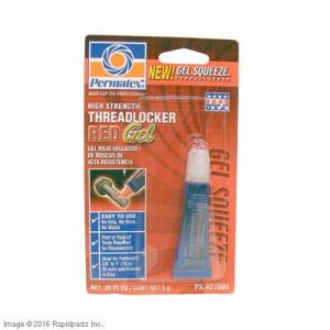 THREADLOCKER RED SQUEEZE GEL A000026316