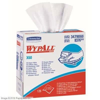 WYPALL X60 WHITE POP-UP BOX A000035369