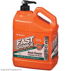 FAST ORANGE SMOOTH 1 GALLON 9I4644
