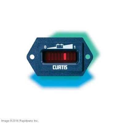 48V CURTIS BATTERY CAPACITY INDICATOR A000007755