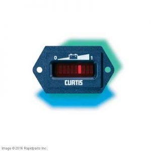 36V CURTIS BATTERY CAPACITY INDICATOR A000007756