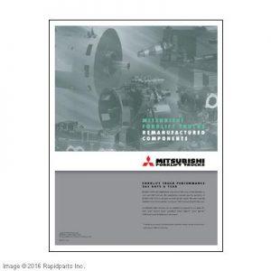 MITSUBISHI REMAN POSTER MEWP0009