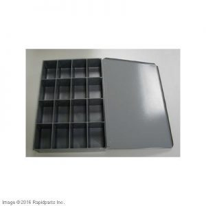 16 COMPARTMENT METAL DRAWER A000001194