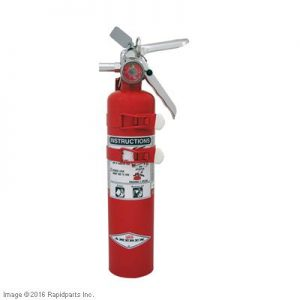 FIRE EXTINGUISHER 2.5#10B:C 9I4910