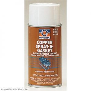PERMATEX® Copper SPRAY-A-GASKET® Hi Temp Adhesive 2I4255