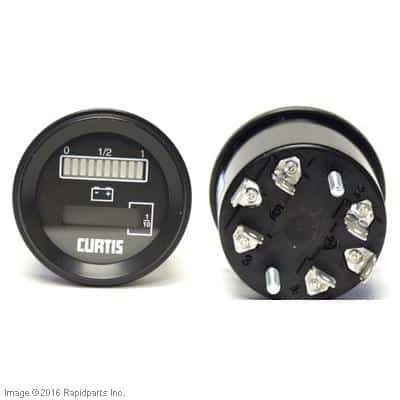 12V CURTIS BDI AND HOUR METER WITHOUT LIFT LOCKOUT A000009212
