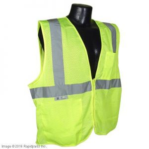 VEST,XL GR REFLECTIVE CL A000037116