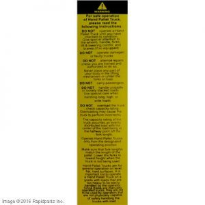 DECAL,WARNING A000046580