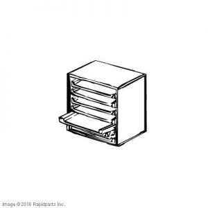 SECURITY CABINET 6 TIER - LOCKABLE A000001192