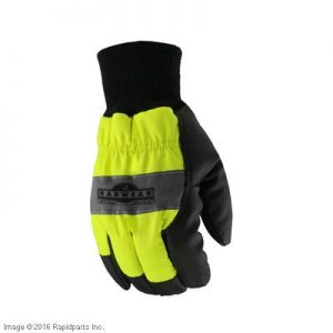 GLOVES, HI-VIZ WATERPROOF L A000050136
