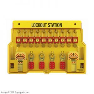10-LOCK STATION (FILLED) A000016867