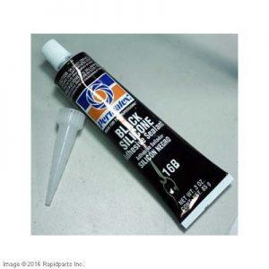 PERMATEX® Black Silicone Adhesive Sealant Tube 9I2290