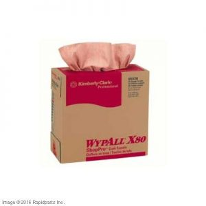 WYPALL X80 RED POP-UP BOX 2I4004