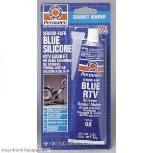 PERMATEX® Blue RTV Silicone Gasket Maker Tube Card 2I4271