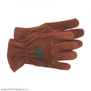 GLOVES LEATHER UNLND L CAT A000021195