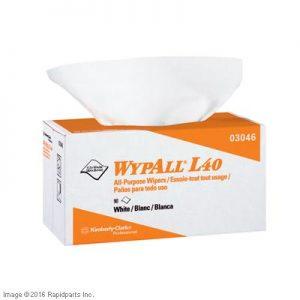 WYPALL L40 WHITE POP-UP BOX SM A000012070