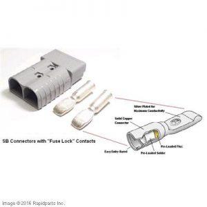 SB FSLK RED CONNECTOR 3/0 A000007353